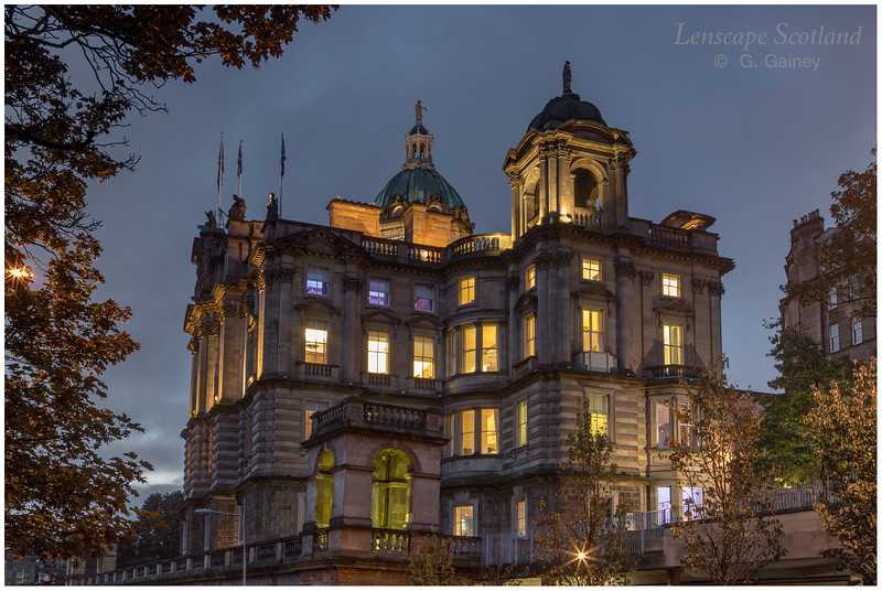 Bank of Scotland at the Mound