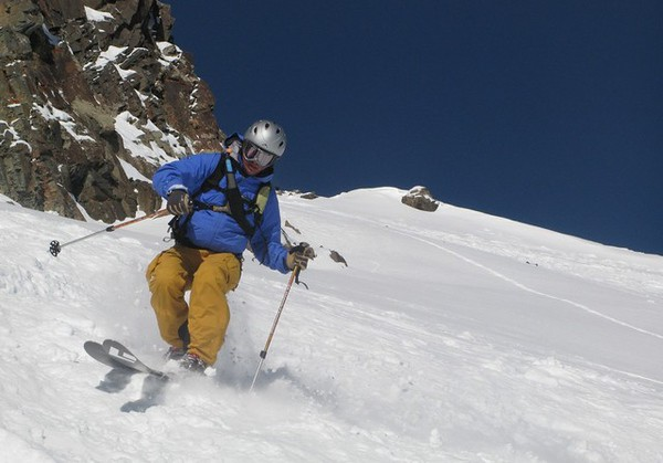 Silverton Skiing 1/10/2009