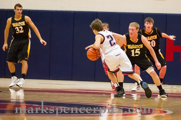 Basketball JV SHS vs Wasatch 12-4-2012