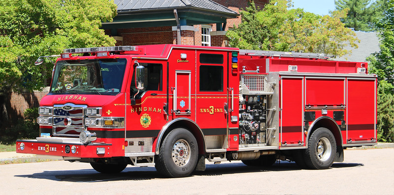 Engine 3.  2016 Pierce Impel.  1250 / 750 / 20F