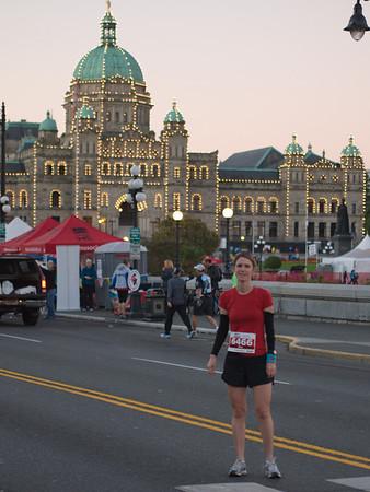 2012 Victoria Marathon, Half and 8k - Andrew's