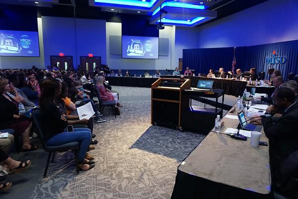 April 24, 2018 Regular MISD School Board Meeting