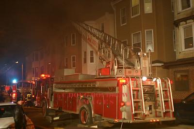 Boston, MA - 2nd Alarm, 182 Bennington Street, 4-4-05