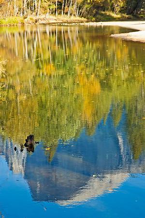 Fall Colors in Yosemite NP. October 2013.