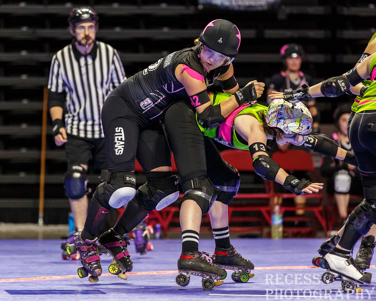 WFTDA 2017 Championships - Game 9 - Montreal vs London ©Keith Bielat