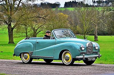 AUSTIN A40 SERIES. 1947-1967