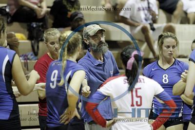 Seabury Hall Girls Volleyball - Roos 10-31-13