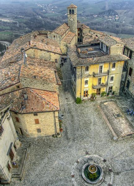 Vigoleno - Vernasca, Piacenza, Italy - March 15, 2009