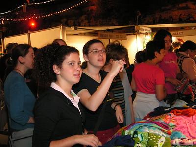 Hutzot hayotzer with Bill Aug 2006