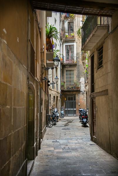 Alley in El Born