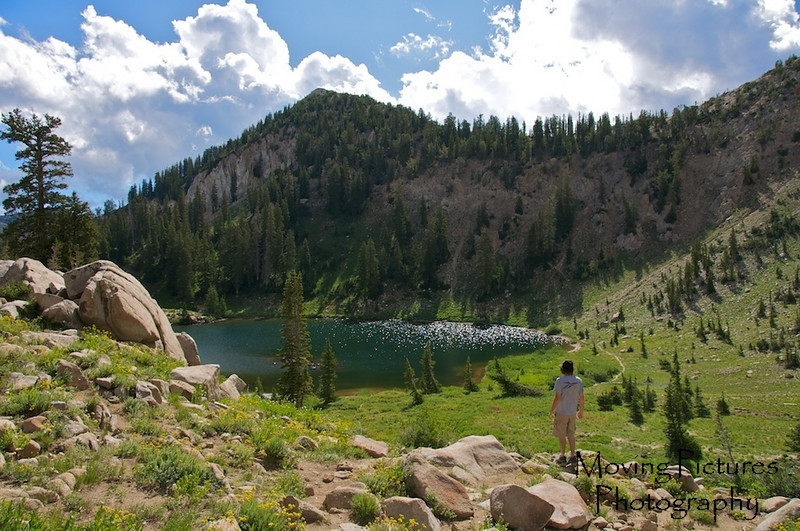 Lake Catherine, elevation ~ 9800 ft.