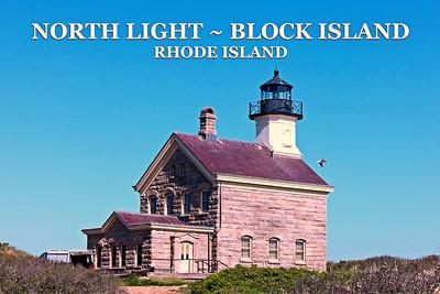 North Lighthouse, Block Island, Rhode Island