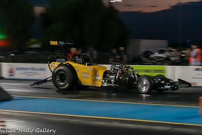 Tucson Dragway - United Nitro Funny Cars Shoot Out - 9-7-2019