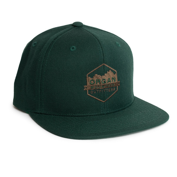 Outdoor Apparel - Organ Mountain Outfitters - Hat - Wool Blend Six-Panel Snapback - Spruce.jpg