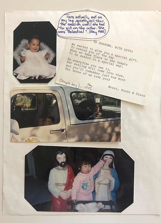 Barbara Lee scrapbook 1986 to 1990