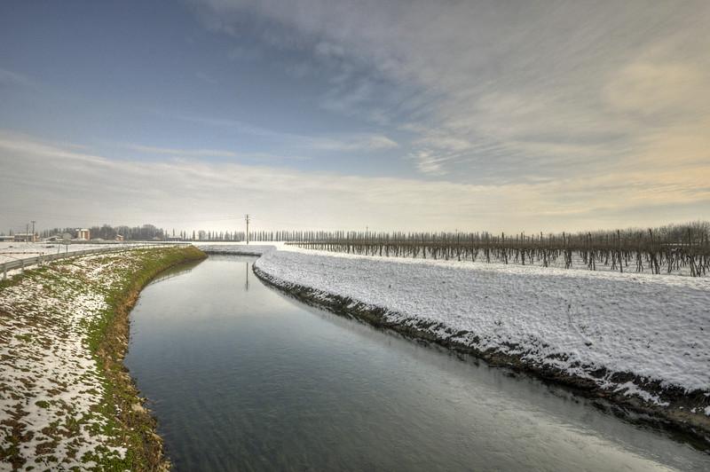 Naviglio Canal - Albareto, Modena, Italy - January 28, 2010