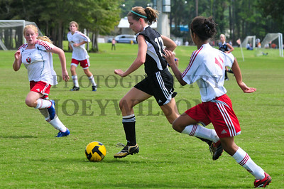 U13 Shockers vs Phoenix White - 9/27/2009