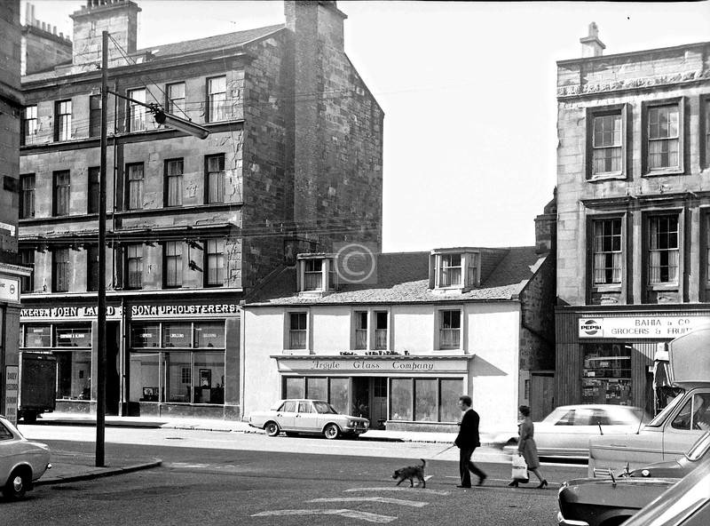 Argyle St. opposite Kelvingrove St.