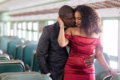 Dominque and Roger's Engagement Shoot