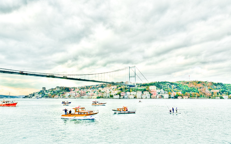 Along the Bosphorus, Istanbul, Turkey