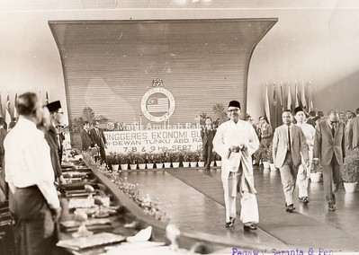 1968 - KONGGERES EKONOMI BUMIPUTERA DI DEWAN TUNKU ABDUL RAHMAN