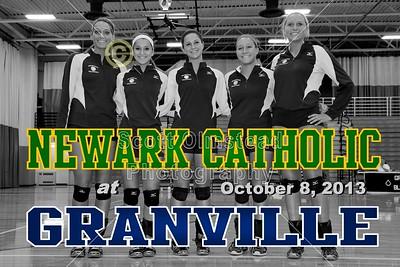 2013 Newark Catholic at Granville (10-08-13)