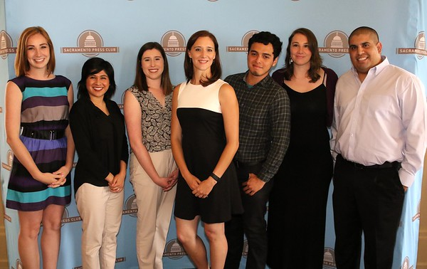 Sacramento Press Club Luncheon with Scholarship Winners and a Presidential Campaign Panel 05 19 16