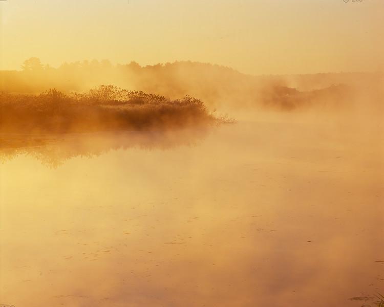 Sunrise and Mist, Beaver Brook