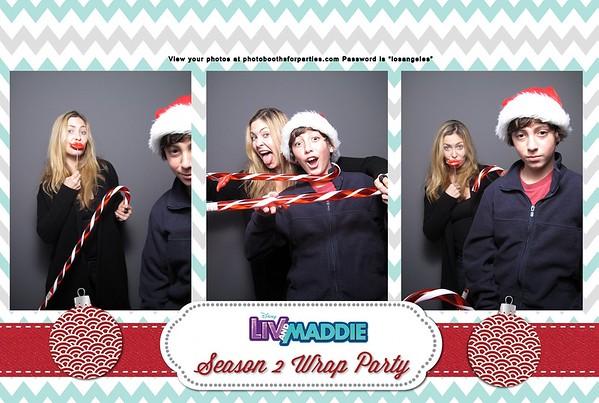 Liv and Maddie Season 2 Wrap Party