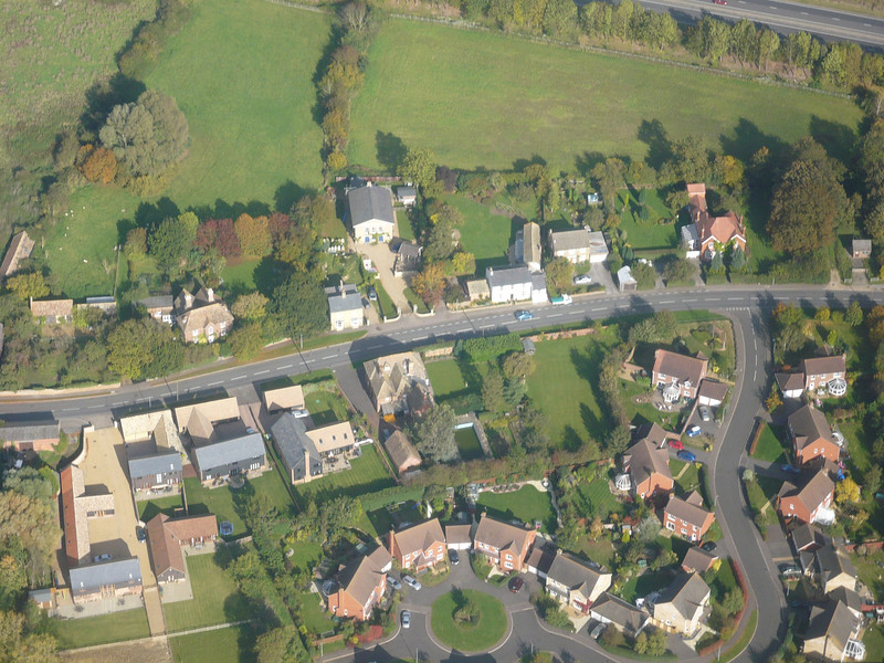 Aerial photo of Spaldwick_4985966524_o.jpg