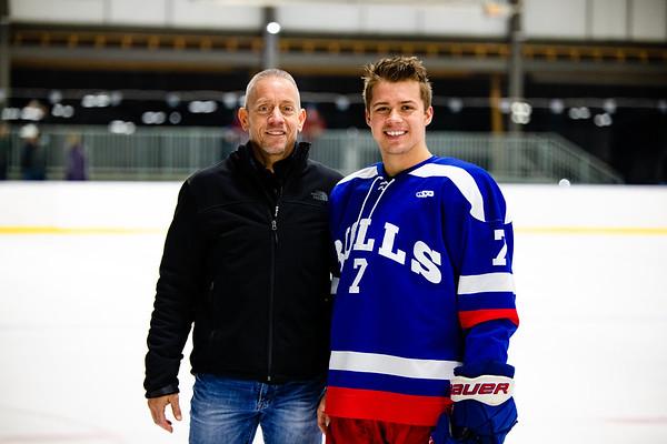 Boys' Varsity Hockey Senior Day