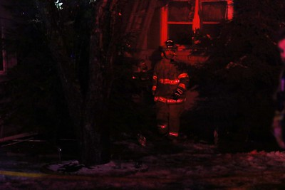 NEW YEARS EVE FIRE IN NO LAW...LASHOMB HOME