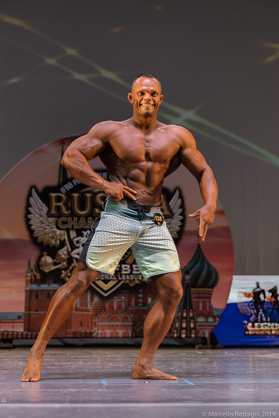 Men's Physique Masters 35+