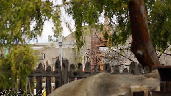 Disneyland Resort, Disneyland, Frontierland, Critter Country, Star Wars Land, Star Wars, Construction, Rivers Of America, Rivers, River, America