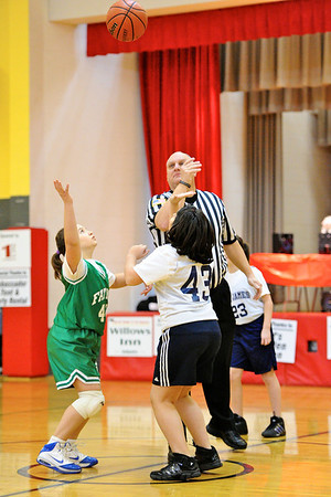 3.4.12 - Our Lady of Fatima vs. St. James - 4th Grade Girls