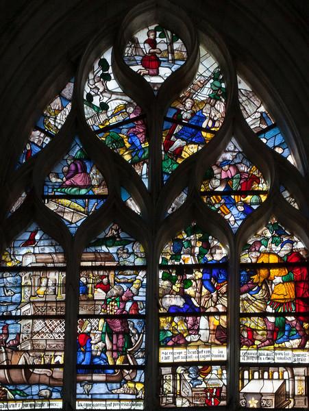 Les Andelys - Clotilde and Clovis Window