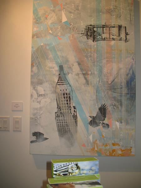 Photographs at Mixer in Brett Wesley Art Gallery Mixer with ISVodka Las Vegas.