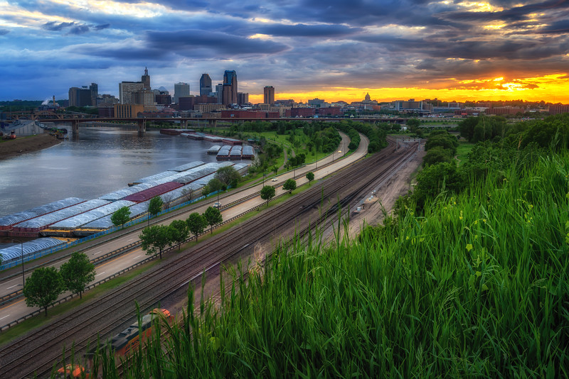 Another Evening in St. Paul