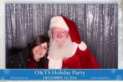 O&TS Holiday Party 2016