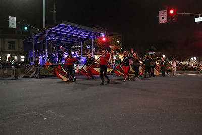 171202 GHS MARCHING BAND (CITY CHRISTMAS PARADE)