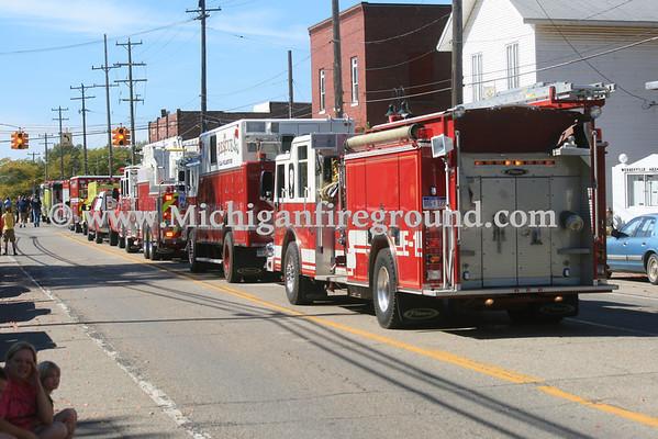 9/28/13 - Leroy Twp Fireman's Field Days parade