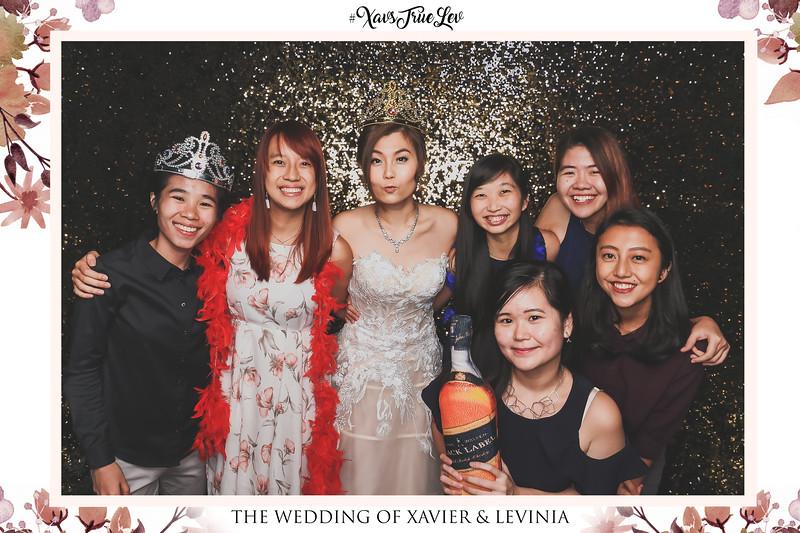 Wedding of Xavier & Levinia   © www.SRSLYPhotobooth.sg