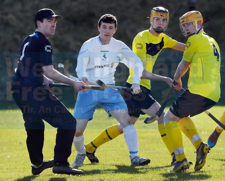 The Fort William defence had a problem trying to contain the in-form Jordan Murchison.