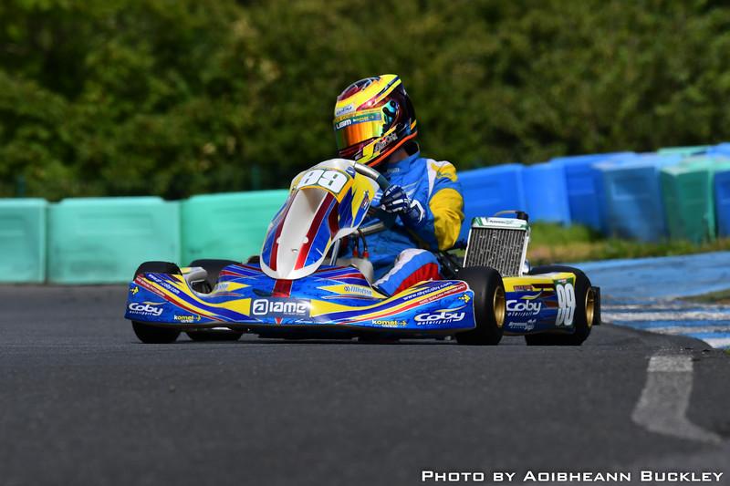 Motorsport Ireland Karting Championship 2018 - Round 7 - Whiteriver - By Aoibheann Buckley