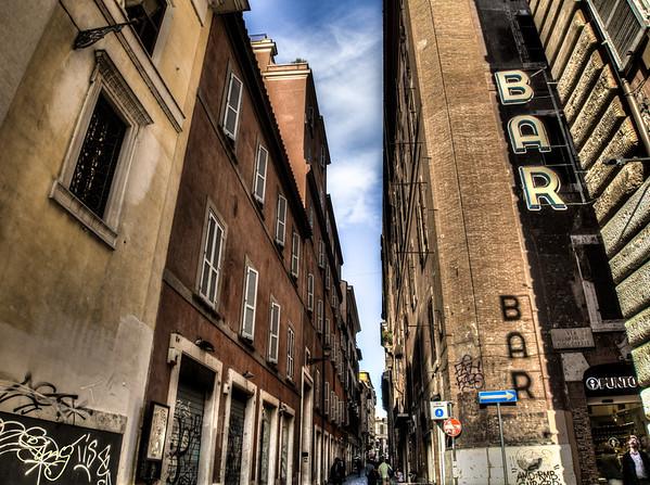 Bars In Rome, Italy
