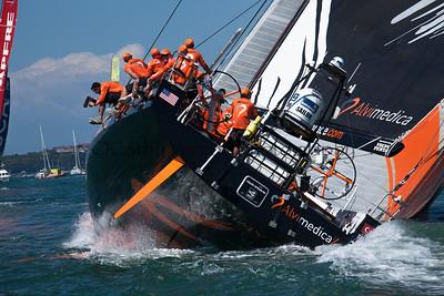 Volvo Ocean Race 2015 Auckland InPort Race