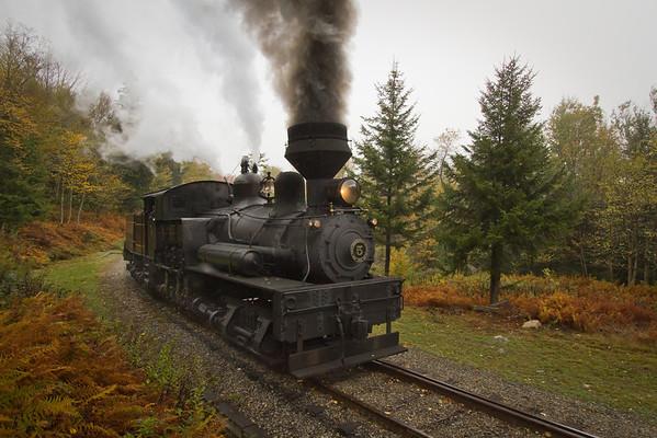 Cass Scenic Railroad Snow