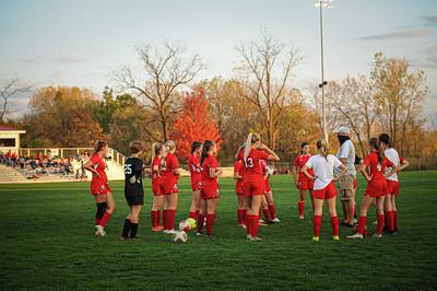 10-22-20 BHS Girls Varsity Soccer vs Mansfield Christian