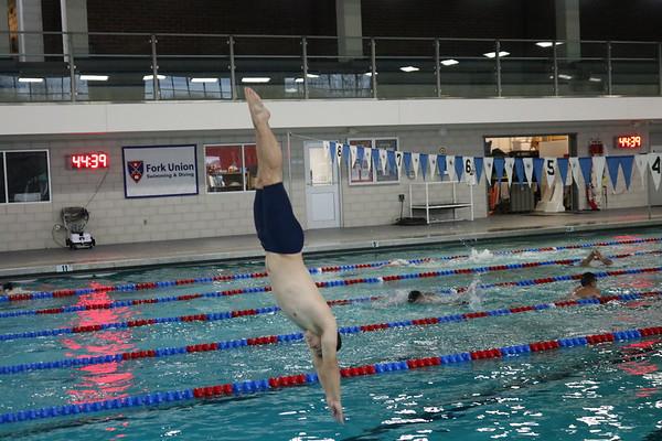 Members of the Dive Team Practice Their Skills