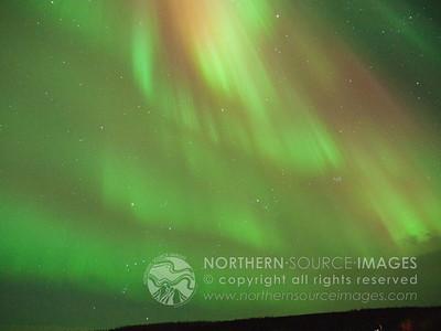 2012-01-22 Aurora at Wickersham Dome